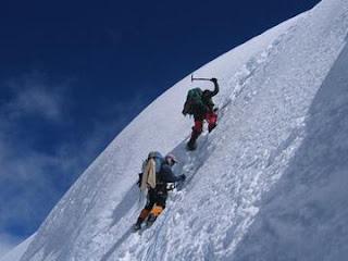 Modern alpinists
