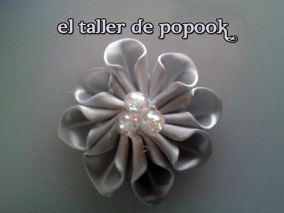 Flor gris el taller de popook for Como hacer el color gris perla