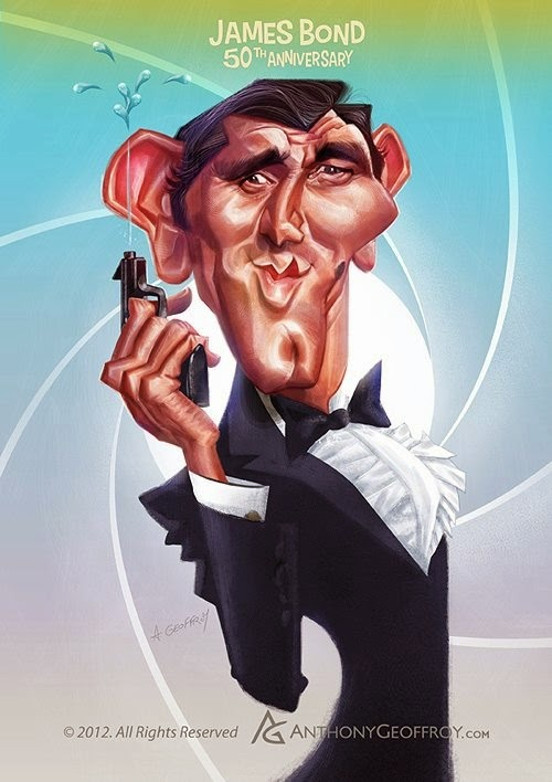 02-George-Lazenby-James-Bond-007-Anthony-Geoffroy-Caricature-Illustrations-Comics-www-designstack-co