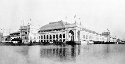 Expo 1893 Chicago - Palais des Manufactures et des Arts Libéraux
