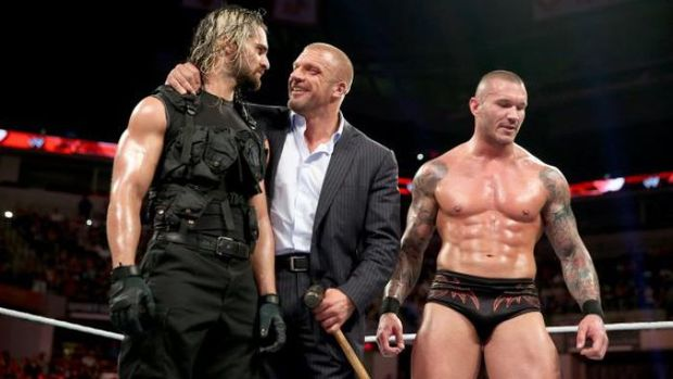 The Shield Split Evolution New Member Triple H Randy Orton Moxley