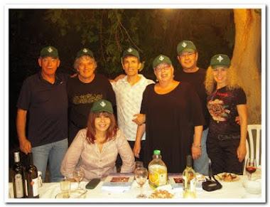 גיבורי הספר בארוחת ערב אצל הברונטמנים באפיקים