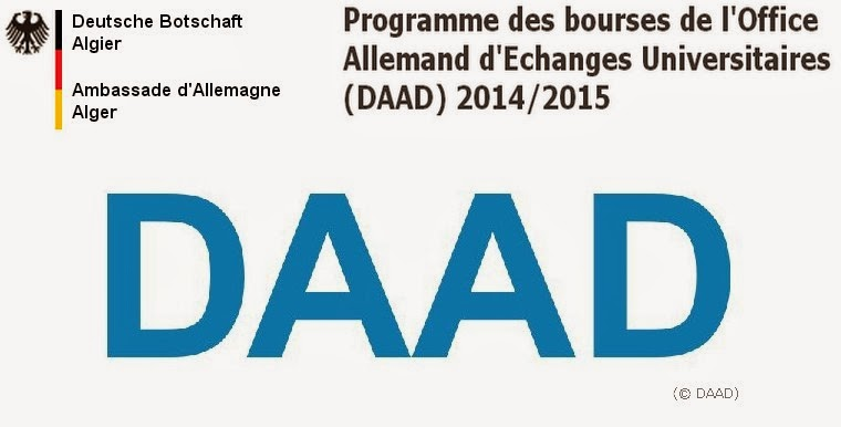 Programme des bourses de l 39 office allemand d 39 echanges - Office allemand d echanges universitaires ...