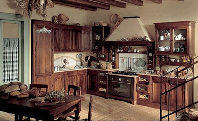 cocina estilo rústico