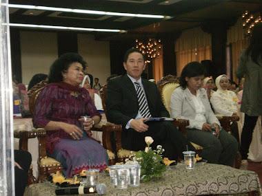 Ibu Menteri Pemberdayaan perempuan dan PA RI dgn Presiden PT.Prudential dan Hoiza Ketua APKLI DKI