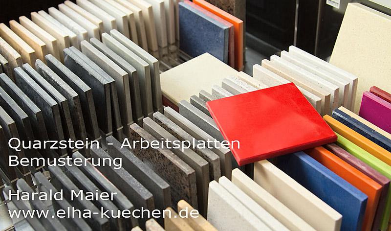 Wir renovieren Ihre Küche : Quarzstein - Arbeitsplatten