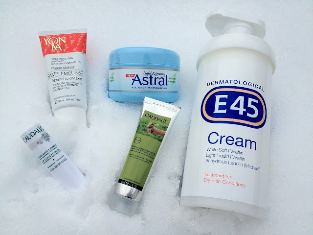 winter moisturisers dry skin caudalie