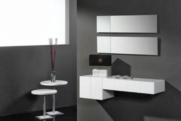 Recibidores colgados - Muebles de entrada pequenos ...