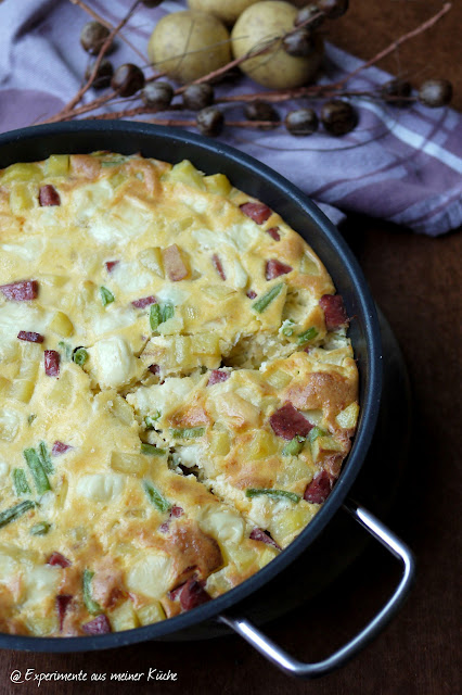 Experimente aus meiner Küche: Ofen-Tortilla #resteausmeinerküche