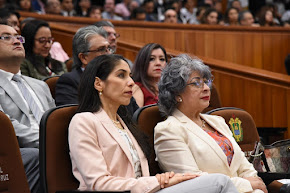 Asisten representantes del Poder Judicial de Veracruz a la comparecencia del Gobernador del Estado