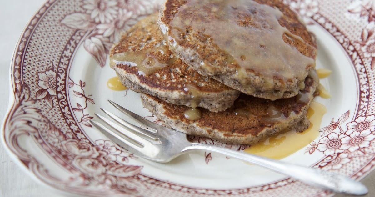 The Flour Sack: Pear & Buckwheat Pancakes