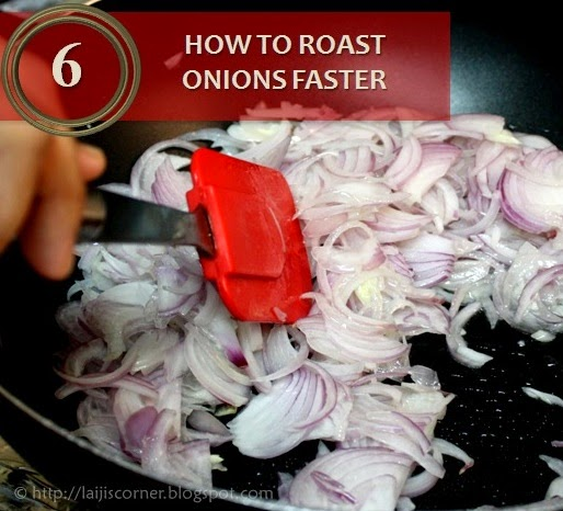 How to roast onions faster