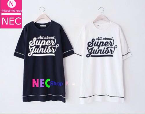 ALL ABOUT SUPER JUNIOR T-SHIRT