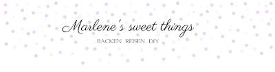 Marlene's sweet things