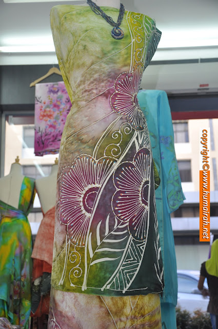 BATIK SUTERA - Abstract Bunga Mawar