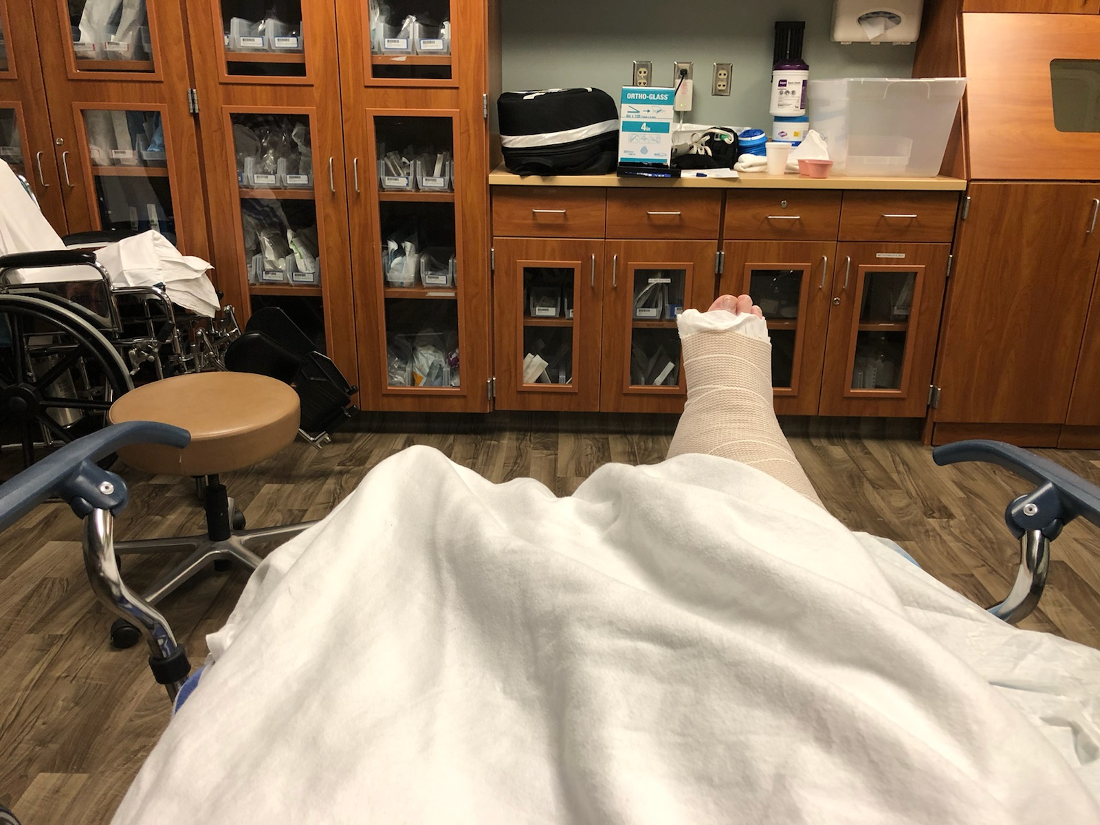 In the ER