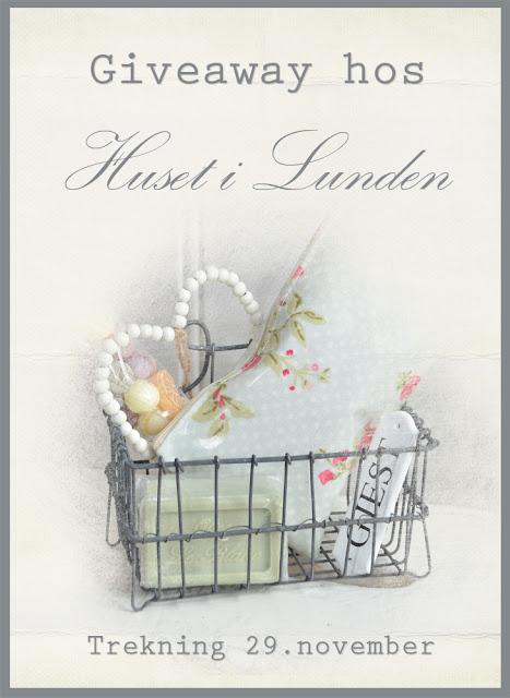 Giveaway - Huset i Lunden 29/11