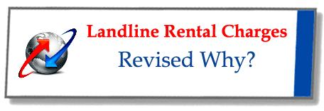 BSNL Landline Rental Charges