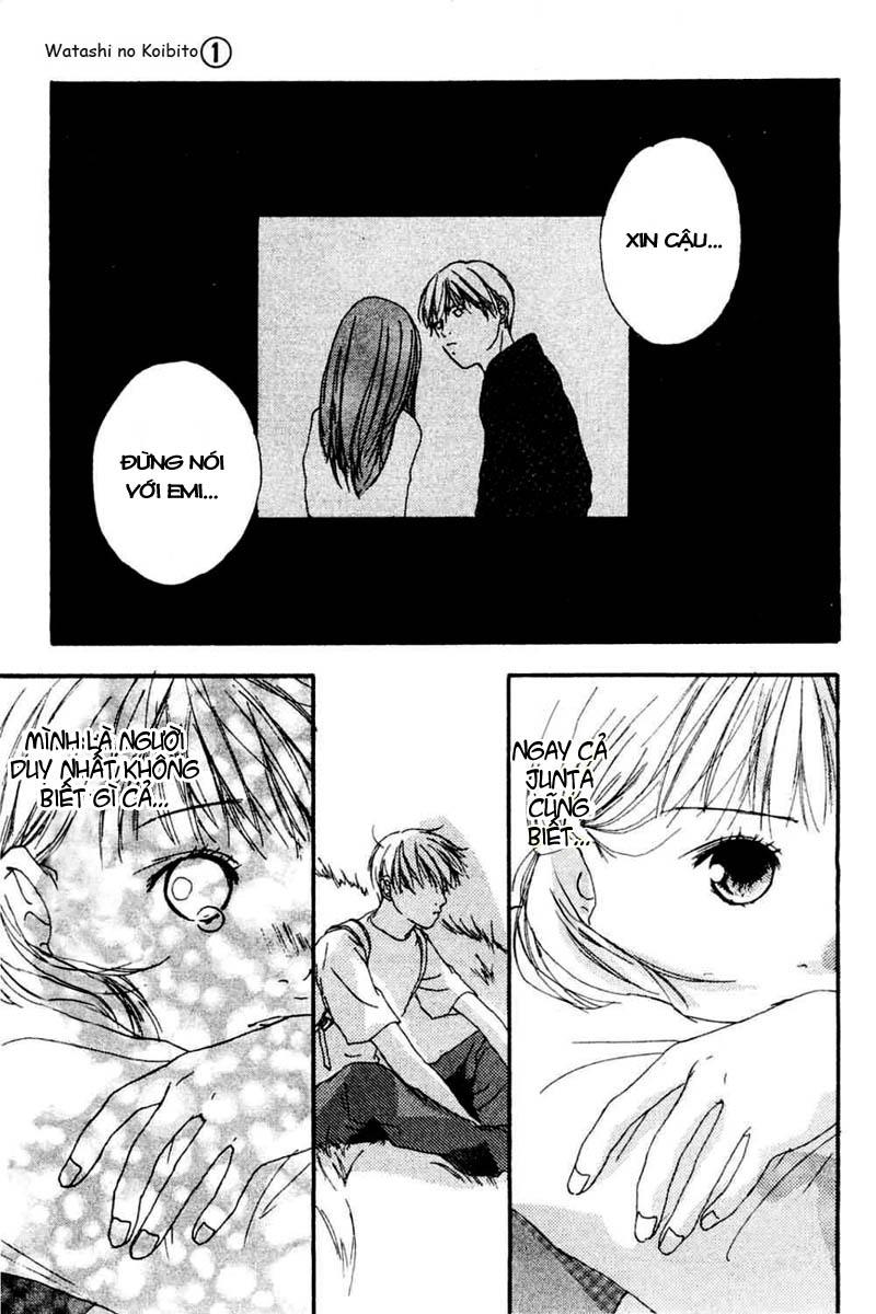 Watashi no Koibito chap 4 - Trang 18