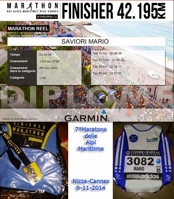 7ª Maratona delle Alpi Marittime (Nizza-Cannes)