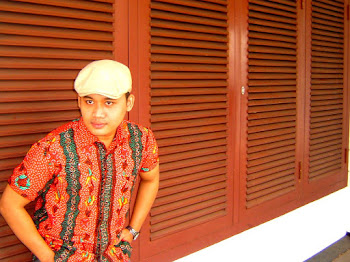 batik tulis madura orange