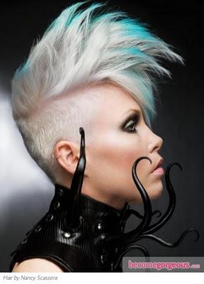 Peinados Punk Para Mujeres - Más de 1000 ideas sobre Peinados Punk Rock en Pinterest Cortes
