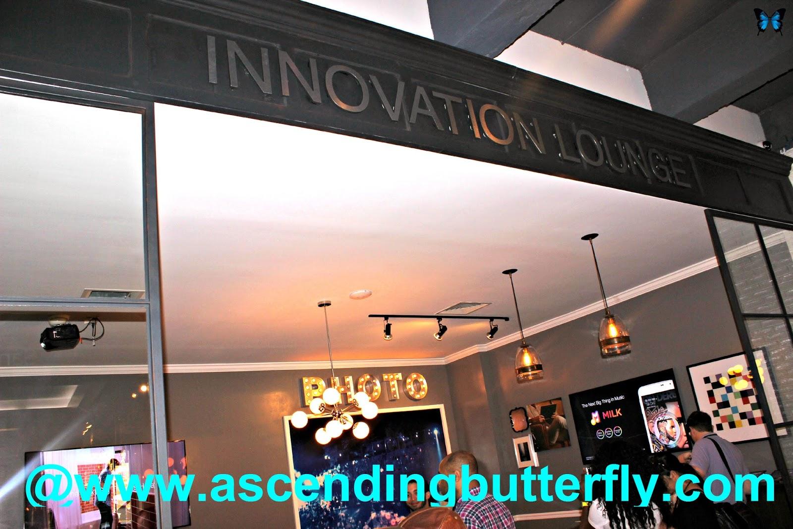 Innovation Lounge at the SoHo Samsung Galaxy Studio
