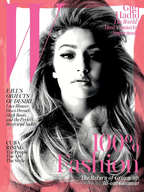 Fashion Model @ Gigi Hadid by Steven Meisel for W Magazine September 2015