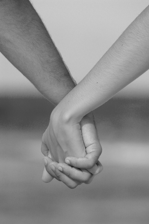 Two People Holding Hands In Black And White Musings of a mixed mind ...