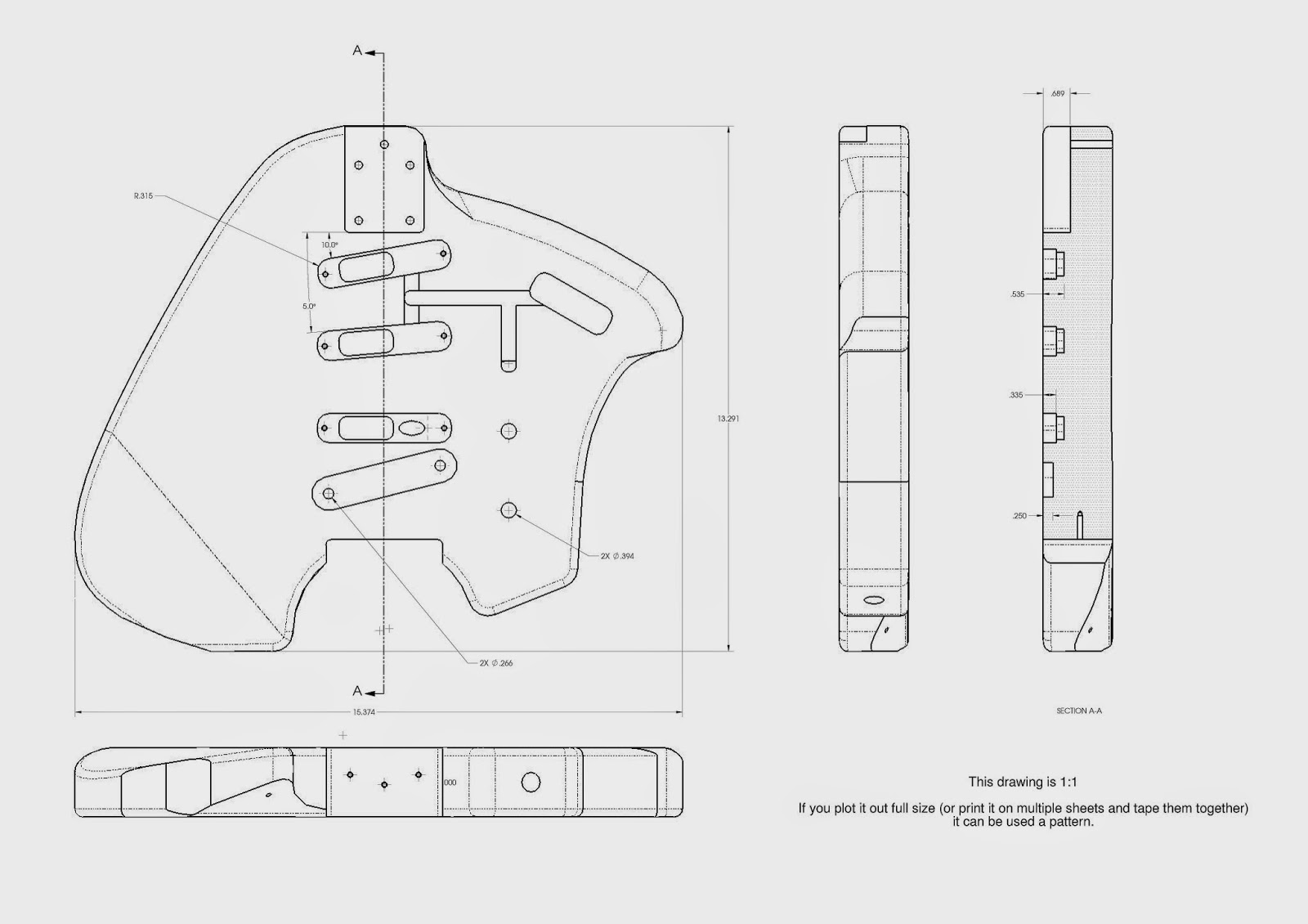 Prepared Guitar Welcome To Klein Electric Guitars Diagram Parts Of The