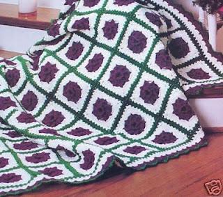 بطانية كروشيه