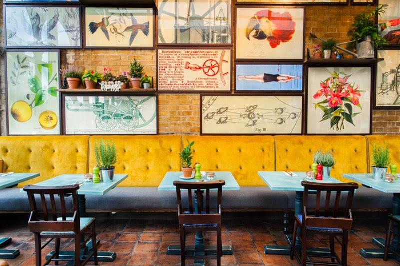 mejores diseños de interiores de bares y restaurantes del mundo, Tap On The Line