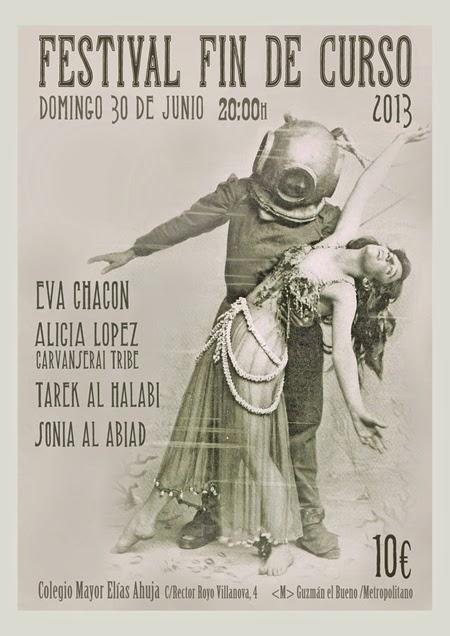 Festival fin de curso de Eva Chacón 2013