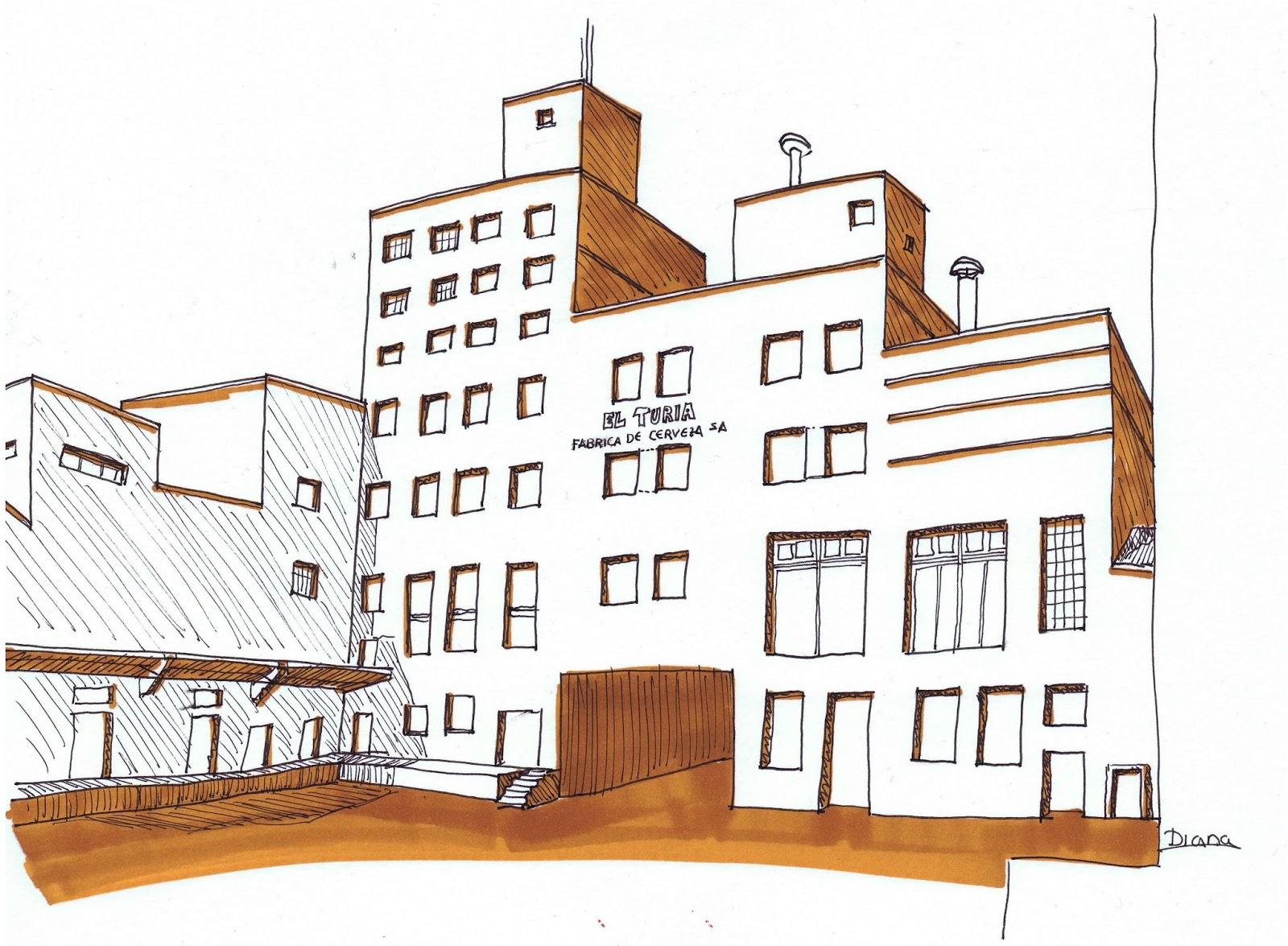 Patrimonio Industrial Arquitect Nico Mis Dibujos