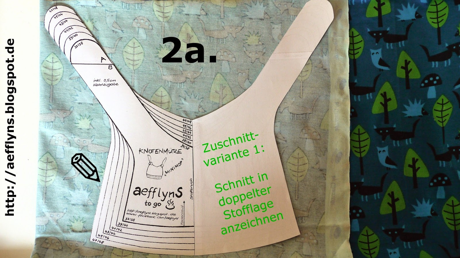 aefflynS - to go: FREEBOOK - Knotenmütze \'MINIMOP\'