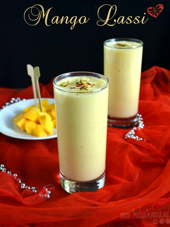 Mango Lassi | Summer Drinks Recipes ~ Indian Khana