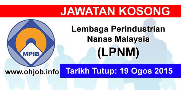 Jawatan Kerja Kosong Lembaga Perindustrian Nanas Malaysia (LPNM) logo www.ohjob.info ogos 2015
