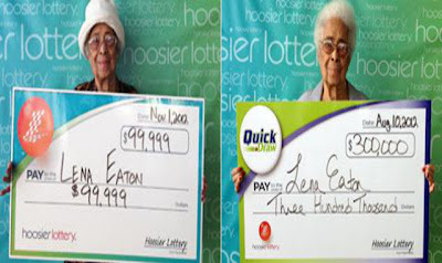 91-Year Old Lena Eaton Won the Lottery Twice