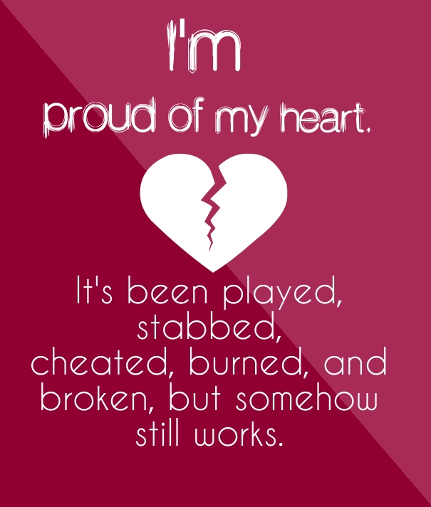 Inspirational Quotes About Broken Hearts | Love quotes - Quotes ...