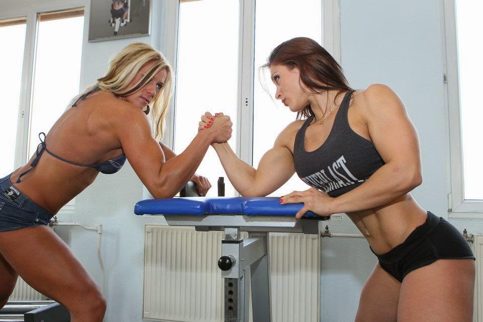 Timea Gagos (L) vs Susanna Tirpak (R)