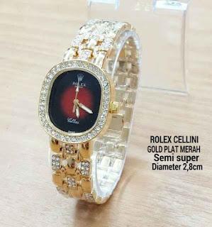 Rolex Celini Mini Merah