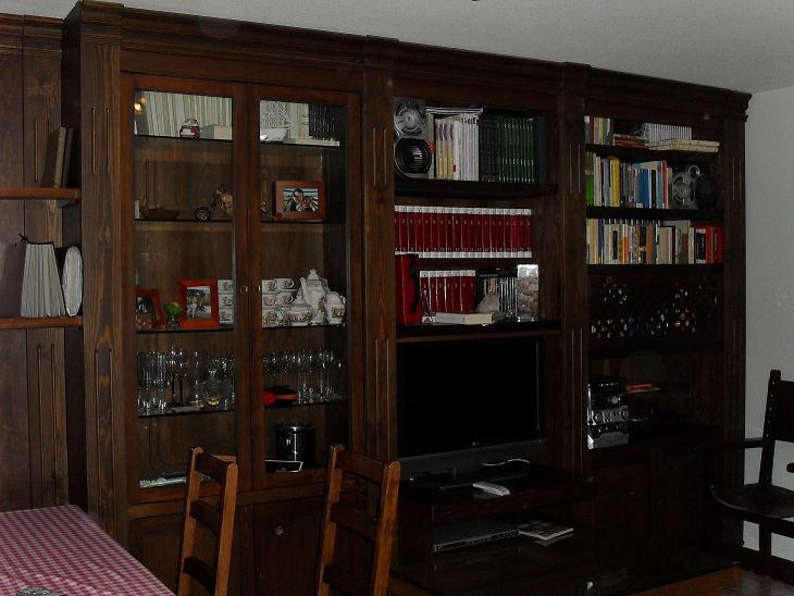 Librerias a medida madrid muebles librerias lacadas de - Librerias lacadas ...