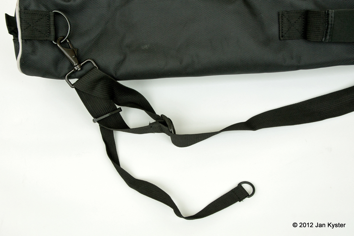 Benro C3770T carrying strap detail