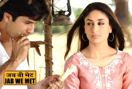 shahid and kareena in jab we met image