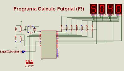 Programa para cálculo fatorial