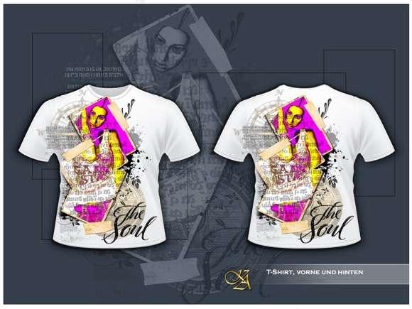 Contoh Desain Baju Kaos