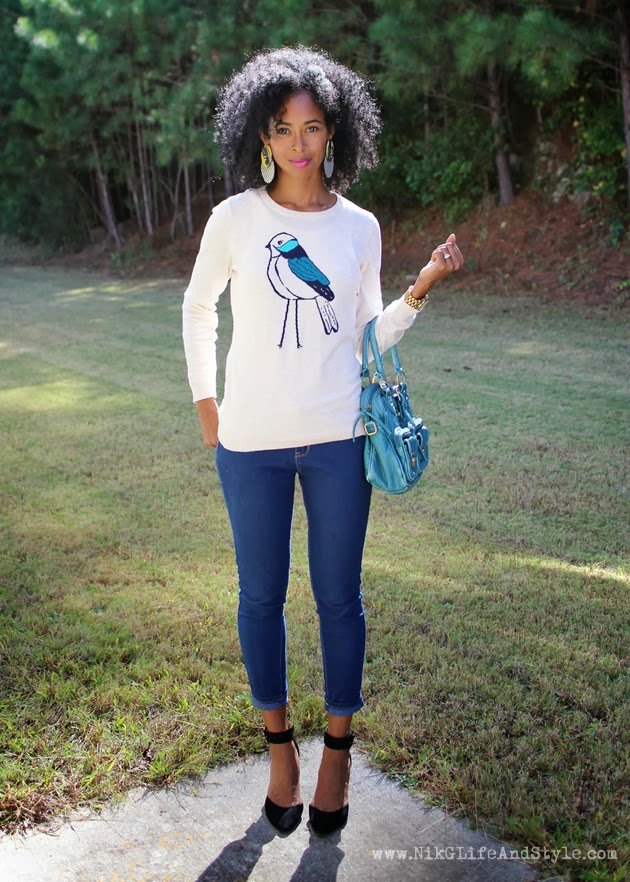 Old Navy Bird Sweater BGKI