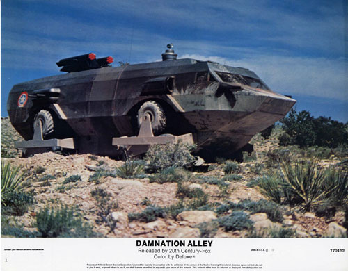 space1970  damnation alley  1977  lobby cards