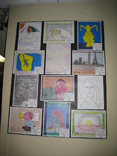 Morris County Youth Art Month 2011 - Stonybrook student artwork