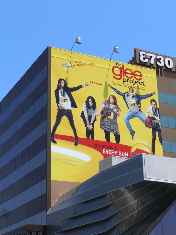 Glee Project season 1 billboard